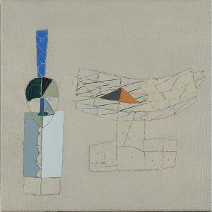 Fetisch für Morandi, Acryl auf Leinwand, 1978