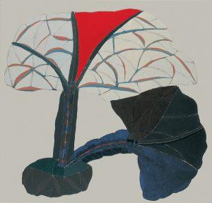 Spiegelung, Acryl auf Leinwand, 1980