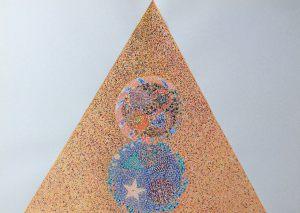 Magier für Taraot, Aquarell, 1972