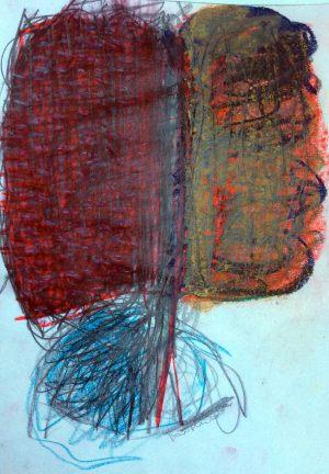 Blutbaum, Gouache und Bleistift, 2006