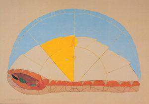 August Lebenszyklus, Handsiebdruck, 1980
