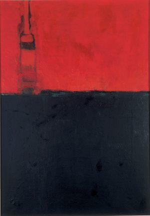 Turm, Oel auf Leinwand, 1962