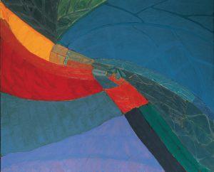 Welle, Oel auf Leinwand, 1985