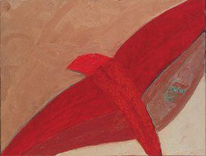 Zugvogel, Oel auf Leinwand, 1988