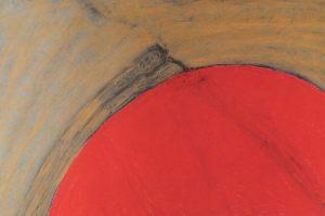 Welt, Pastell auf Bütten, 1991