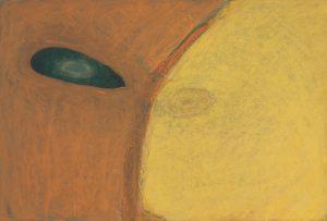Einblick, Pastell auf Bütten, 1992-94