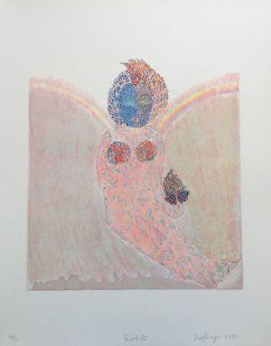 The Empress, Tarot, Granolithographie, 1975