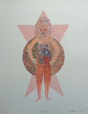 Force, Tarot, Granolithographie, 1975